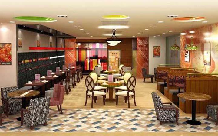 沈阳美食v美食版正品管理软件餐饮上海BBQ_沈旋转牵手韩国餐厅图片